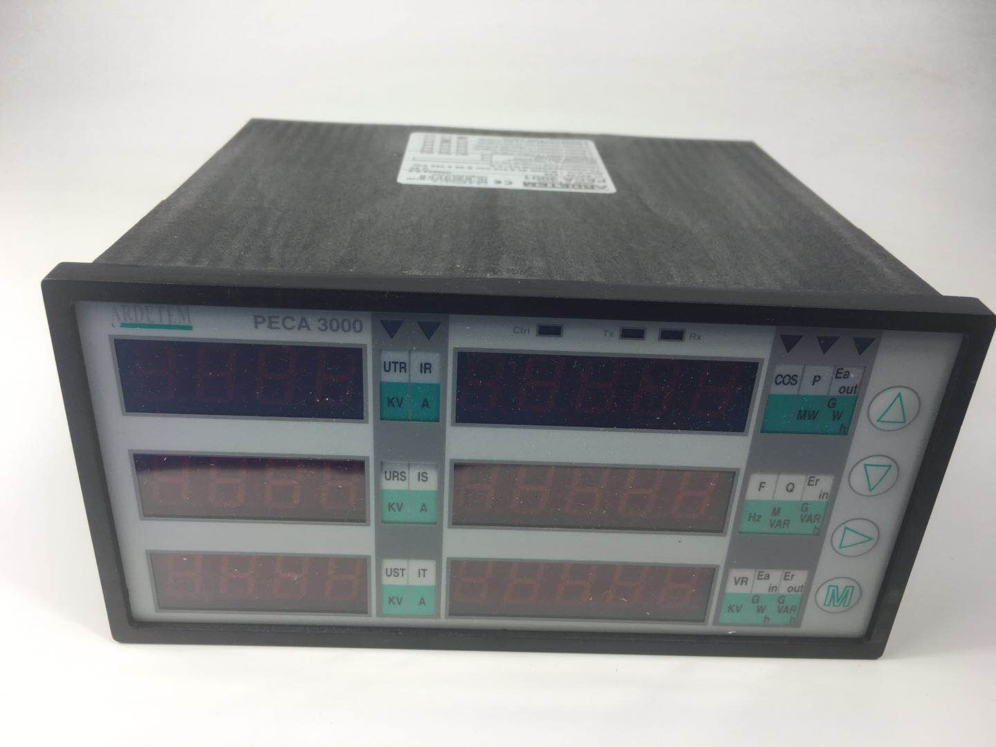 MEASURING UNIT IN: 110VAC-5A-SOURCE: 110VDC PECA3000 ARDETEM
