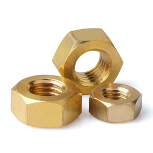 Custom Size Hex Brass Nuts