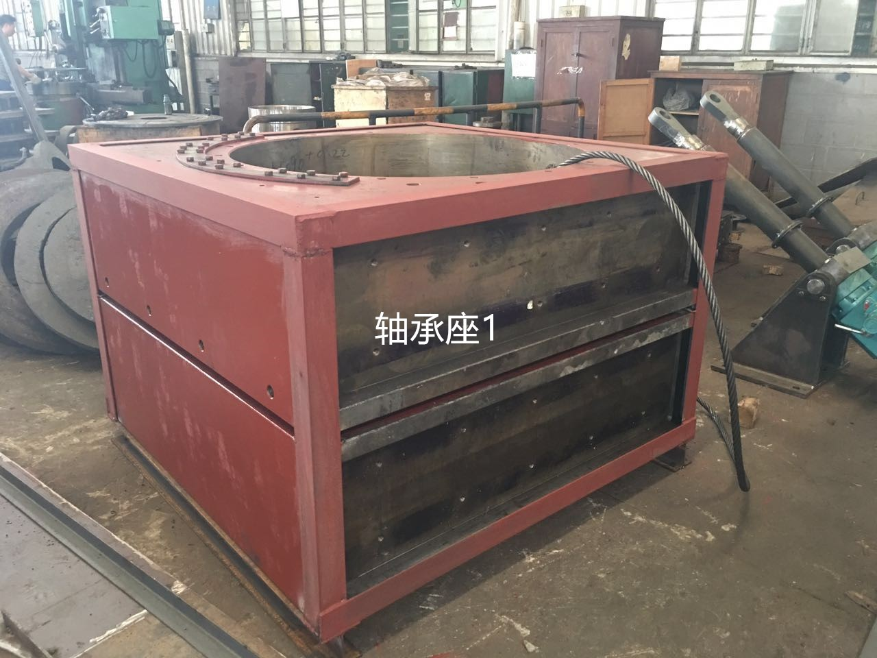 Removable Bearing House HFCG140-65,for roller press