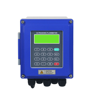 Wall Mounted Clamp Ultrasonic Flow Meter