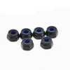 #5-40 6-32 6-40 8-32 8-36 Steel Black Oxide Nylon-Insert Locknuts