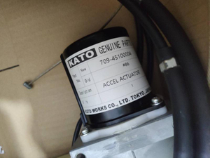 Kato Excavator Genuine Part Accel Actuator - 70945100004