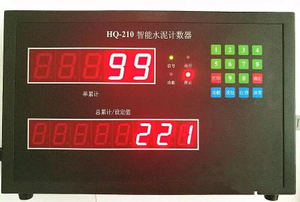 Waterproof, Dust-Proof Smart Bag Counter For Cement Factory
