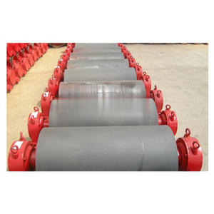 Conveyor Drum Head Pully / Rubber Lagging Conveyor Pulley