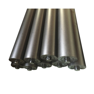 Conveyor Belt Steel Through Guide Roller