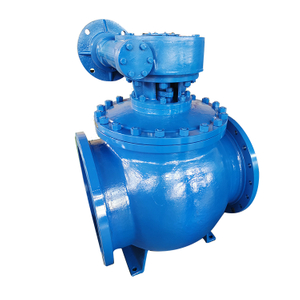 Larger Size Customized Flange End Spherical Valve Eccentric Semi-ball Valve